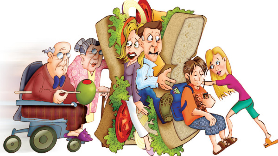 The Sandwich Generation